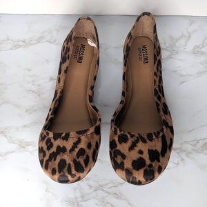 Mossimo Cheetah Print Ballet Flats